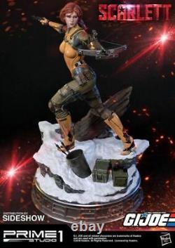 1/4 scale GI Joe Scarlett Statuette Exclusive Version MINT IN BOX