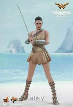 1/6 Hot Toys Mms424 DC Wonder Woman Diana Prince Training Armor Version