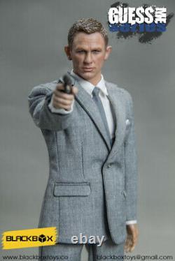 1/6 Scale BLACK BOX James Bond Spectre Grey Version 007 Actionfigur BB9002-B