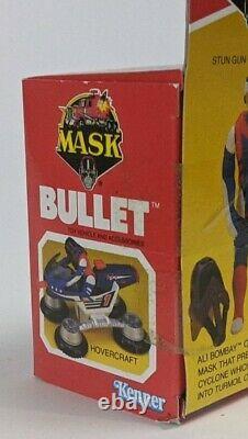 1987 Kenner M. A. S. K. Bullet US Version Box Mask Sealed MISB #1