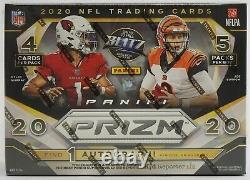 2020 NFL Panini Prizm Football Mega Box Target Version 20 Cards New Sealed