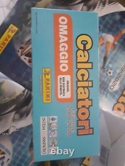 3 Box (versione Omaggio -versione A Pagamento+box Gol)calciatori Panini 2019-20