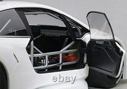 AUTOart 81355 PEUGEOT 208 T16 model car PIKES PEAK plain version white 2013 118