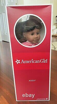 American Girl Addy Walker Doll & Book NEW IN BOX Pre Beforever Version