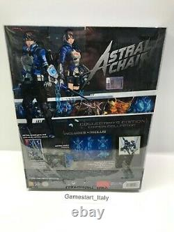 Astral Chain Collector's Edition Nintendo Switch New Sealed Pal Ita Version