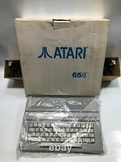 Atari 65XE Najm Home Computer Arabic version (PAL) Vintage Game Boxed new