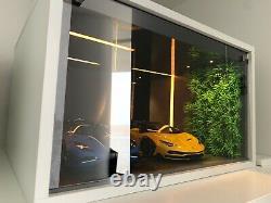 Autoart/ BBR/ MR 118 Display Box, With LED Light Handmade LimitedPreorder