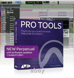 Avid Pro Tools 2018 Full Version PLUS 1-Year Upgrade Plan (Boxed)