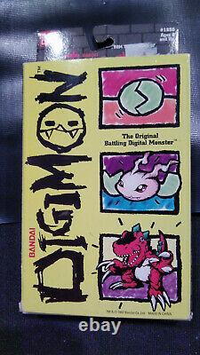 Bandai Digimon digivice Tamagotchi #1850 Original 1997 version new in box