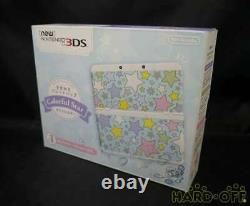 BoxedNew Nintendo 3DS Console Colorful Star Plates Pack Japan Version Import