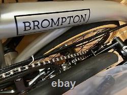 Brompton S6E-X CHPT3 v3 Version 3 2021 Superlight Ti Brand New In Box