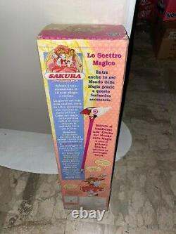 Cardcaptor Sakura Sealed Wand Long Version 1998 Edition Bandai EURO BOX New