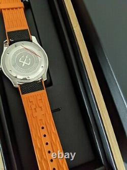 Christopher Ward C60 Trident 300 Boxed, 43mm version, hybrid rubber strap, new