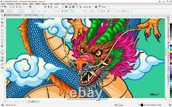 Corel Draw Graphics Suite 2021 Vollversion 2 Win Box + DVD VBA Handbuch OVP NEU