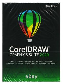 CorelDRAW Graphics Suite 2020 Full Commercial Version, New Retail Box