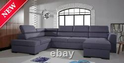 Corner Sofa Bed With Storage -right Or Left Version- Est 1