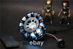 DIY Iron Man Tony Stark MK2 Arc Reactor Display Box USB Powered/Remote Control