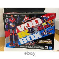 DX Soul of Chogokin VOLT IN BOX Voltes V Japan version Bandai