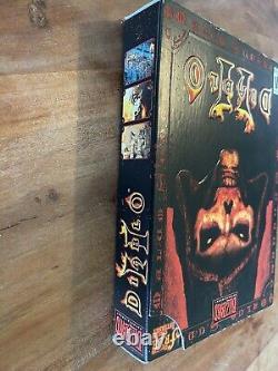 Diablo II 2 PC Small Box Version NTSC USA New Factory Sealed Blizzard Classic
