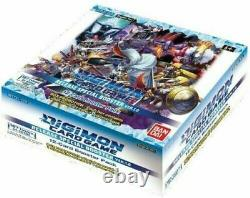 Digimon Card Game Release Special Booster Box Version 1.0 TCG + 1 Dash Pack
