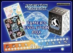 Digimon Tcg Bandai Tamer Evolution Box English Version Factory sealed