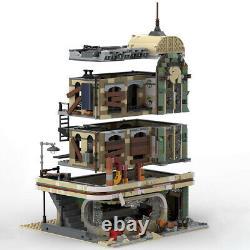 Downtown Diner Apocalypse Version Restaurant MOC-40173 Building Blocks Toys