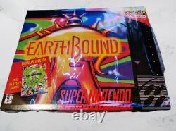 Earthbound with box 16bits US Version + Player Guide english language
