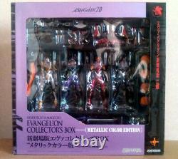 Evangelion Metallic figure Theatrical Version Collector Box Revoltech toy anime