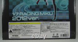 FREEing Vocaloid Hatsune Miku 2012 Racing Miku Version Figure Good Smile SEALED
