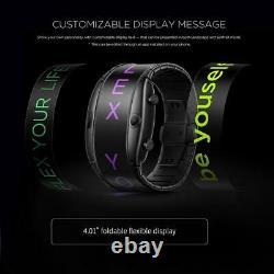 Global Version Nubia Alpha Smart Phone Watch 4.01 Foldable Flexible Screen 2021