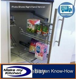 Hafele Pull & Swing Out Magic Corner Soft Close for 1000mm Kitchen Unit