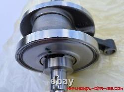 Honda CBR 125 Genuine crankshaft + main bearings, all CBR type same, box version