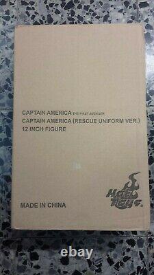 Hot Toys MMS 180 Captain America (Rescue Uniform Version) Chris Evans Steve SEAL