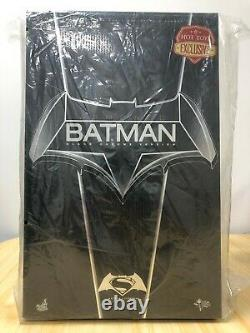 Hot Toys MMS 356 Dawn of Justice Armored Batman (Black Chrome Version) NEW 2