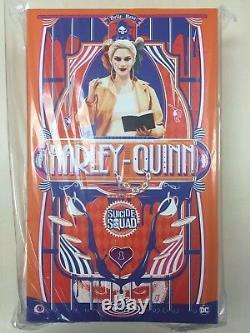 Hot Toys MMS 407 Suicide Squad Harley Quinn Margot Robbie (Prisoner Version) New