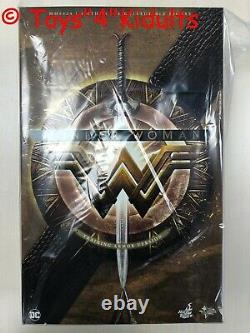 Hot Toys MMS 424 Wonder Woman (Training Armor Version) Gal Gadot 1/6 Figure NEW