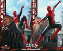 Hot Toys Marvel SPIDER-MAN UPGRADED SUIT VERSION 1/6th Figure MMS542 Sealed