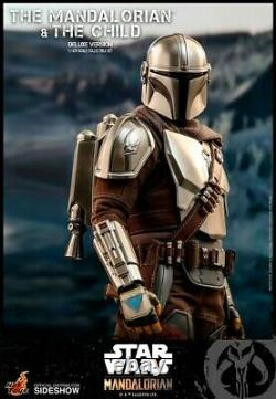 Hot Toys TMS015 THE MANDALORIAN AND THE CHILD (DELUXE VERSION) 1/6 Brand New