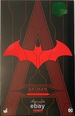 Hot Toys VGM29 Arkham Knight Batman Futura Knight Red Version No Brown Box New
