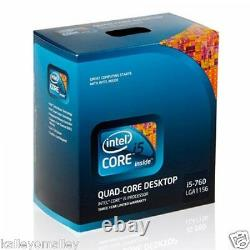 Intel BX80605I5760 SLBRP Core i5-760 8M Cache New Retail Box (English version)