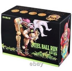 JoJo's Bizarre Adventure Part 7 STEEL BALL RUN COMPLETE BOX Japanese version NEW