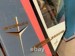 JukeBox Seeburg 222 1959 Original U. S. Version + Pair Original Side Glass NEW