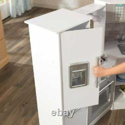 Kidkraft Ultimate Corner Play Kitchen with Sounds and Lights White Version