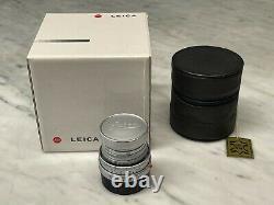 Leica Elmar-M 50mm f2.8 new version, boxed like New