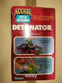 M. A. S. K. Kenner DETONATOR U. S. BOX VERSION