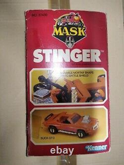 M. A. S. K. Kenner STINGER U. S. BOX VERSION