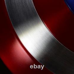 Metal CATTOYZ 11 AVENGERS Captain America Shield Replica&Prop Perfect Version