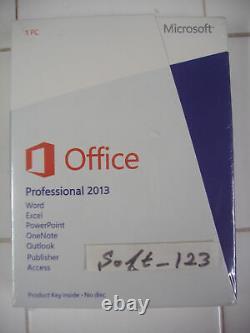 Microsoft Office Professional 2013 Full English Version (269-16094) =SEALED BOX=