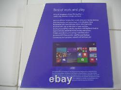 Microsoft Windows 8.1 Pro Full English Version 32 & 64Bit DVD MS =RETAIL BOX=