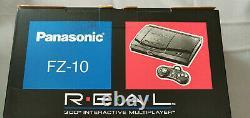 NEW IN BOX! Panasonic 3DO FZ-10 R. E. A. L (NTSC) Canadian Version ULTRA RARE